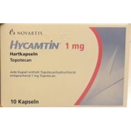 Купить Гикамтин Hycamtin 1 мг/10 капсул в Москве