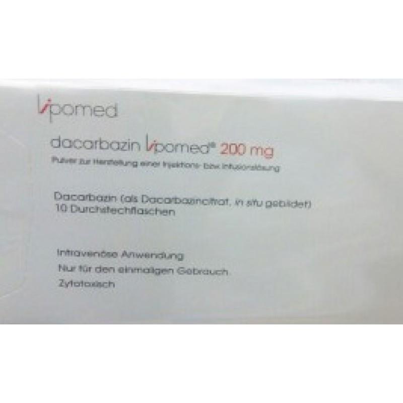 Дакарбазин Dacarbazine 200 мг/10 флаконов