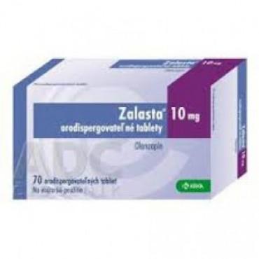 Купить Заласта Zalasta 10 мг/ 70 таблеток в Москве