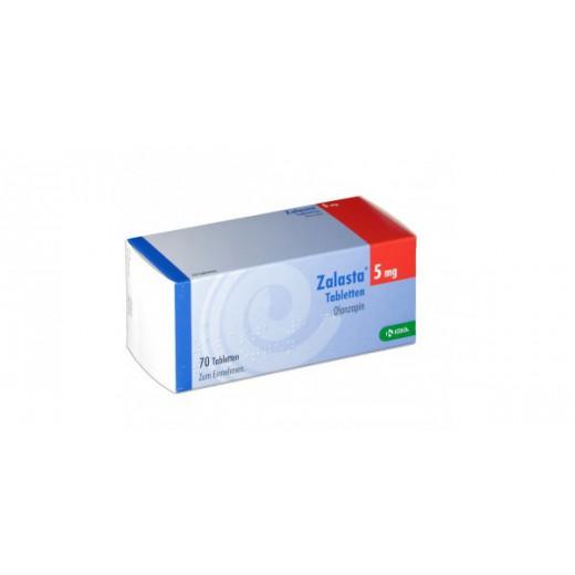 Купить Заласта Zalasta 5 мг/ 70 таблеток в Москве
