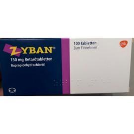 Купить Зибан Zyban 150 мг/100 таблеток в Москве