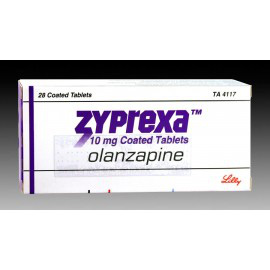 Купить Зипрекса Zyprexa 10 MG (Olanzapine) 28X10MG в Москве