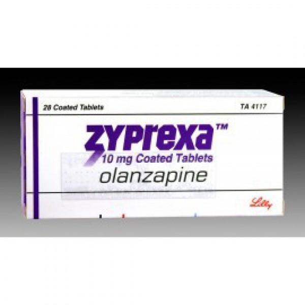 Зипрекса Zyprexa 10 MG (Olanzapine) 28X10MG
