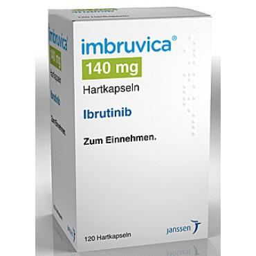 Купить Имбрувика Imbruvica (Ибрутиниб) 140 мг/90 капсул в Москве