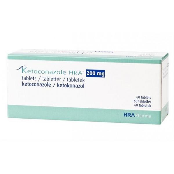 Кетоконазол Ketoconazole  200 мг/60 таблеток