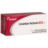 Лозартан Losartan 100 мг/ 98 таблеток