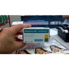 Купить Аллопуринол ALLOPURINOL 100mg - 100 Шт в Москве