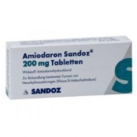 Купить Амиодарон AMIODARON 200 Мг - 100 Таблеток в Москве