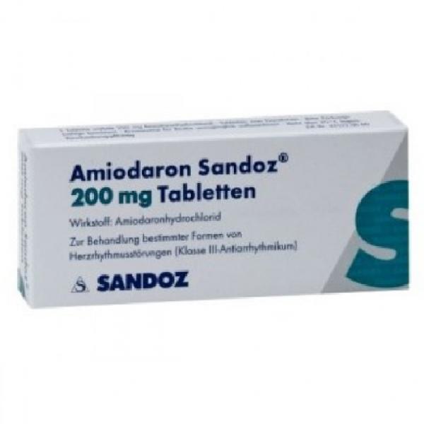 Амиодарон AMIODARON 200 Мг - 100 Таблеток