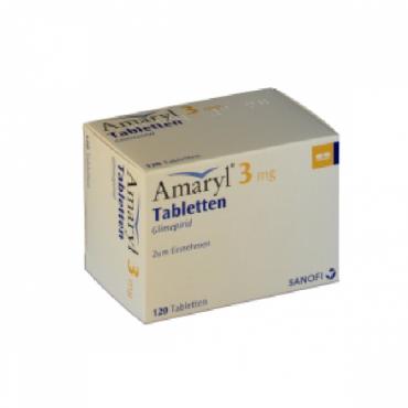 Купить Амарил AMARYL 3MG - 120 Шт в Москве