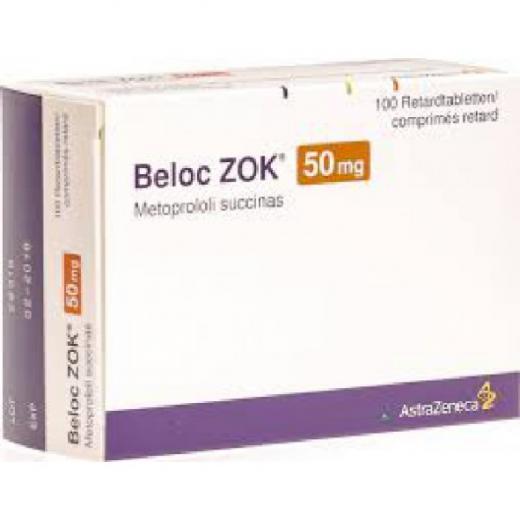 Купить Белок Зок BELOC ZOK 47.5MG(Betalok) - 100 Шт в Москве