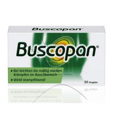Купить Бускопан Buscopan Dragees - 50 Шт в Москве
