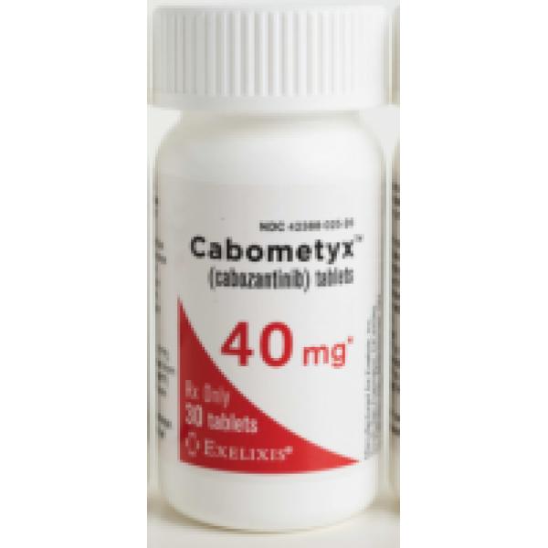 Кабометикс (Кабозантиниб) CABOMETYX 40 мг/30 таблеток