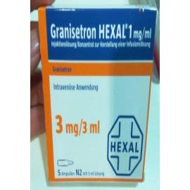 Купить Гранистерон GRANISETRON HEXAL 1MG/ML  5X3 ml в Москве