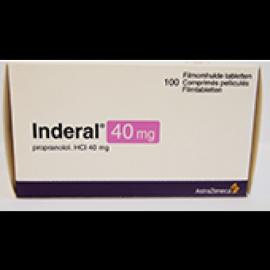 Купить Индерал INDERAL 40MG - 100 Шт в Москве