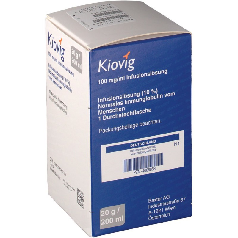 Киовиг KIOVIG 100MG/ML - 10 Мл