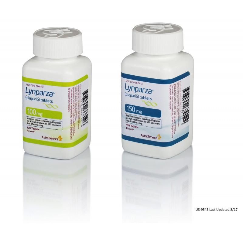 Линпарза Lynparza (Олапариб) 100 мг/2x56 капсул