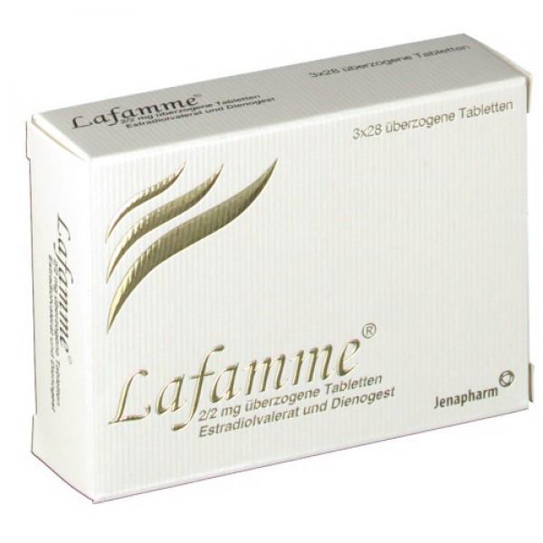 Лафамме LAFAMME 2 мг/3x28 шт
