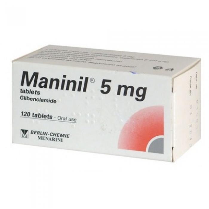 Манинил MANINIL 5 Mg - 120 Шт