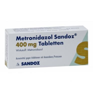 Купить Метронизадол METRONIDAZOL 400 - 20Шт в Москве