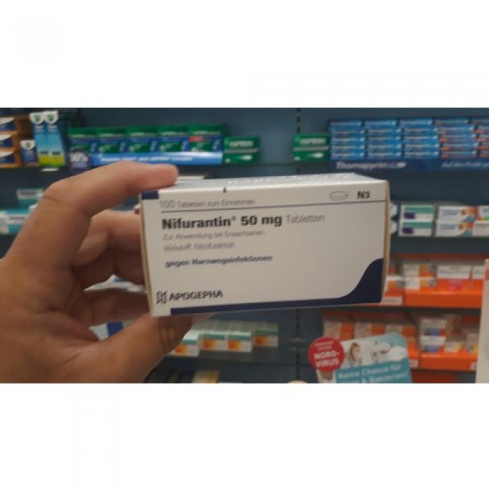 Нифурантин NIFURANTIN 50MG - 100 Шт
