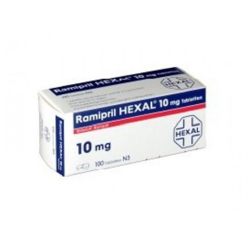 Рамиприл RAMIPRIL 10MG 100 Шт