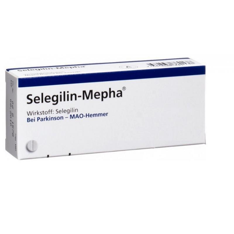 Селегилин SELEGILIN 10MG / 100Шт