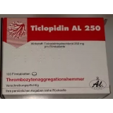 Тиклопидин TICLOPIDIN 250 - 100 Шт