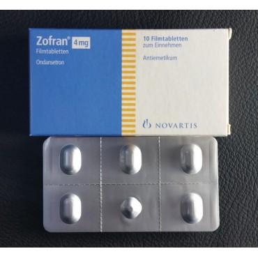 Купить Зофран ZOFRAN  4 мг/10 таблеток  в Москве