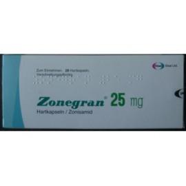 Купить Зонегран Zonegran 25 мг/28 капсул   в Москве