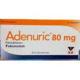 Аденурик Adenuric 80 мг/ 84 таблеток