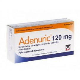 Купить Аденурик Adenuric 120 мг /84 таблеток в Москве