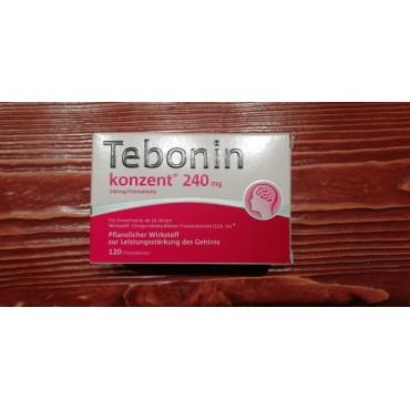 Купить Тебонин Tebonin Intens 240MG 120 Шт. в Москве