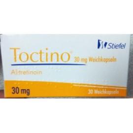 Купить Токтино Toctino (Алитретиноин) 30 мг/30 капсул в Москве