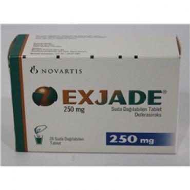 Купить Эксиджад Exjade 180 мг/90 таблеток в Москве