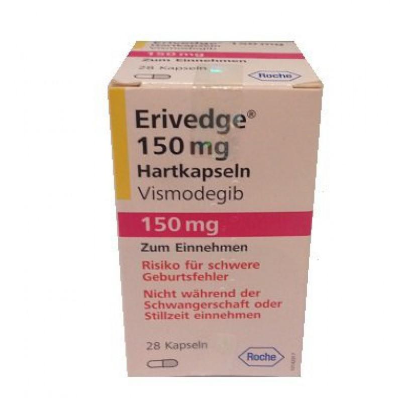 Эриведж Erivedge (Висмодегиб) 150 мг/28 капсул
