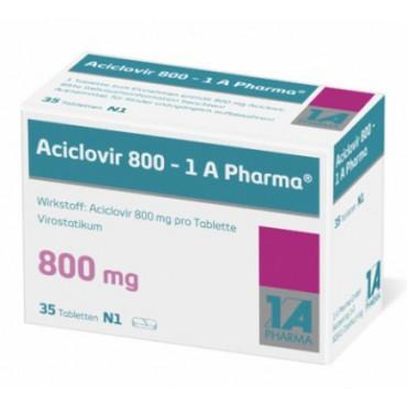 Купить Ацикловир Aciclovir 800/35 шт в Москве