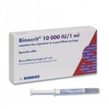 Купить Бинокрит Binocrit 10000I.E./6х1ML в Москве