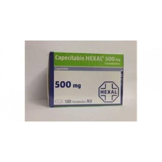 Купить Капецитобин Capecitabin Hexal 500MG/120 шт в Москве