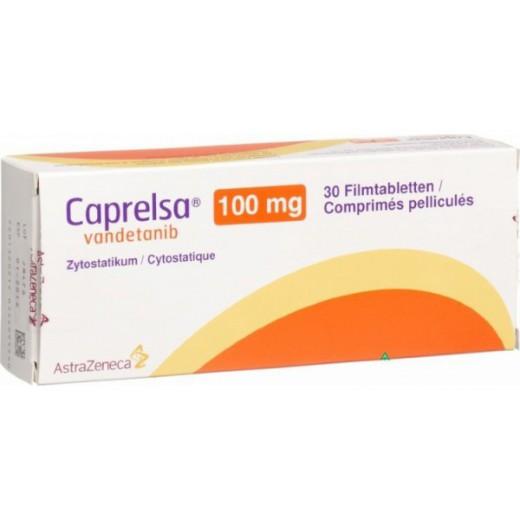 Купить Капрелса Caprelsa (Вандетаниб) 100 мг/30 таблеток в Москве