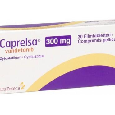 Купить Капрелса Caprelsa (Вандетаниб) 300 мг/30 таблеток в Москве