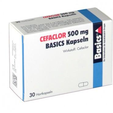 Купить Цефаклор Cefaclor 500MG Basics KAPS/30 Шт в Москве