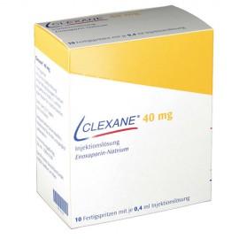 Купить Клексан Clexane 40MG 0.4ML 50 шт в Москве