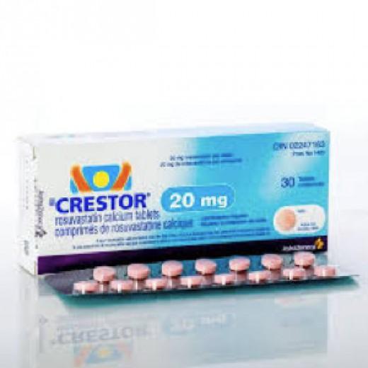 Купить Крестор Crestor 20MG/100 шт в Москве