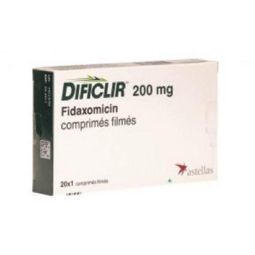 Купить Дификлир Dificlir 200MG /20 шт в Москве