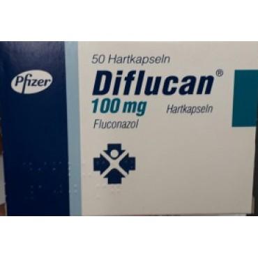 Купить Дифлюкан Diflucan 100 мг/100 капсул в Москве