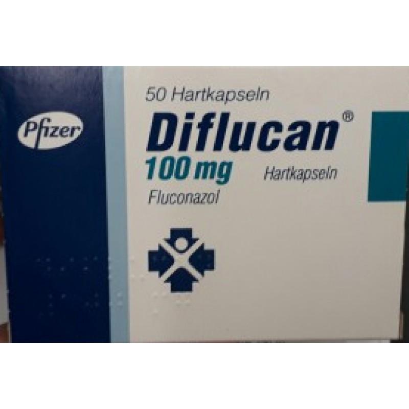 Дифлюкан Diflucan 100 мг/100 капсул