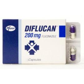 Купить Дифлюкан Diflucan 200 мг/100 капсул в Москве