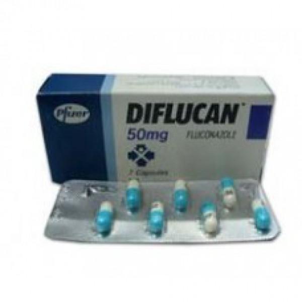 Дифлюкан Diflucan 50 мг/28 капсул