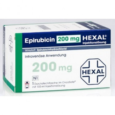 Купить Эпирубицин Epirubicin 200 - 1 Шт в Москве